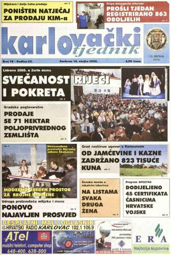 Karlovački tjednik: 2005 • 10