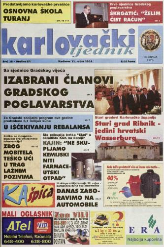 Karlovački tjednik: 2005 • 38