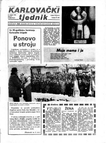 Karlovački tjednik: 1984 • 9