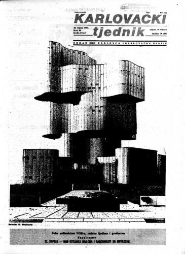 Karlovački tjednik: 1983 • 29