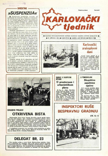Karlovački tjednik: 1989 • 12