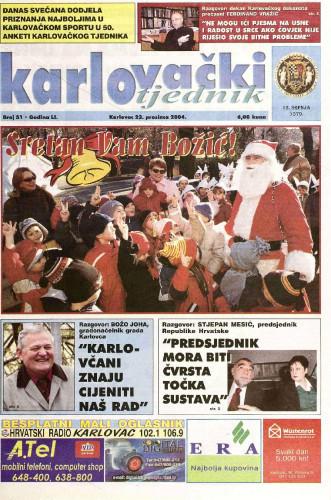 Karlovački tjednik: 2004 • 51