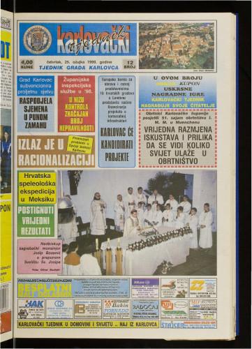 Karlovački tjednik: 1999 • 12