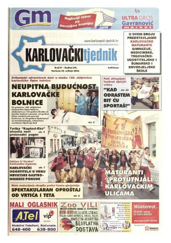 Karlovački tjednik: 2006 • 21