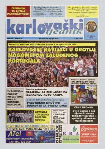 Karlovački tjednik: 2004 • 25