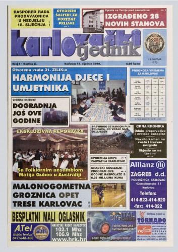 Karlovački tjednik: 2004 • 2