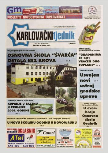 Karlovački tjednik: 2007 • 30