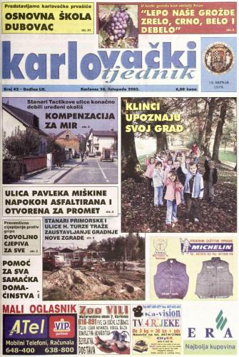 Karlovački tjednik: 2005 • 42