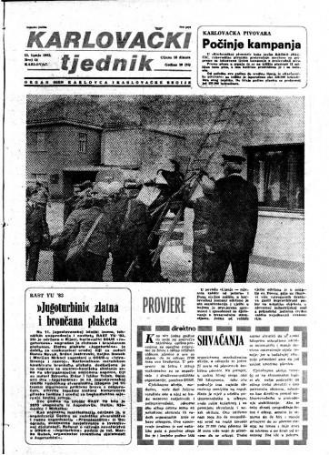 Karlovački tjednik: 1983 • 24
