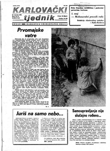 Karlovački tjednik: 1983 • 16/17