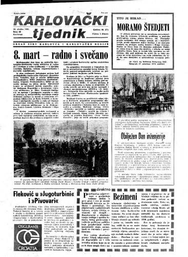 Karlovački tjednik: 1981 • 10