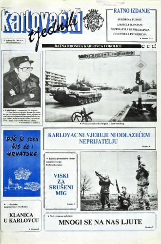 Karlovački tjednik: 1991 • 47