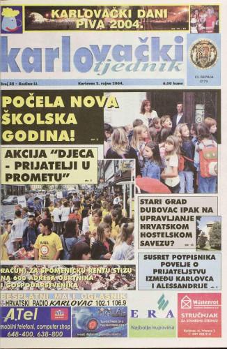 Karlovački tjednik: 2004 • 35
