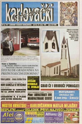Karlovački tjednik: 2001 • 19