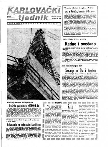 Karlovački tjednik: 1983 • 8