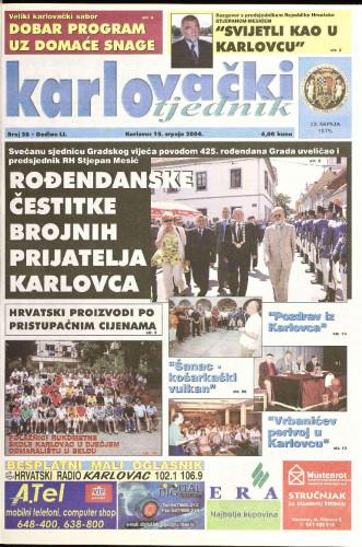 Karlovački tjednik: 2004 • 28