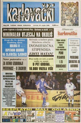 Karlovački tjednik: 2000 • 09