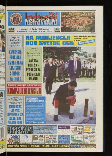 Karlovački tjednik: 1999 • 22