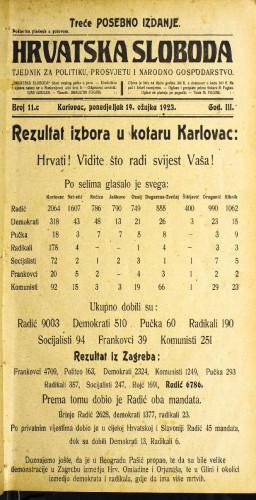 Hrvatska sloboda: 1923 • 11c