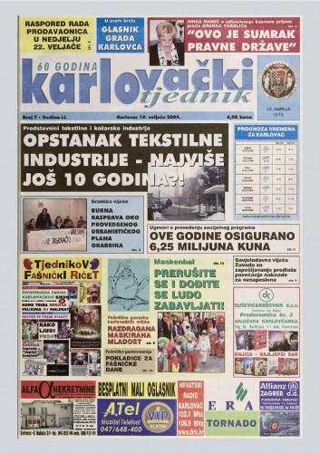 Karlovački tjednik: 2004 • 7