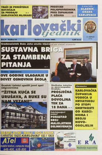 Karlovački tjednik: 2005 • 9