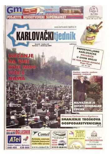 Karlovački tjednik: 2007 • 44