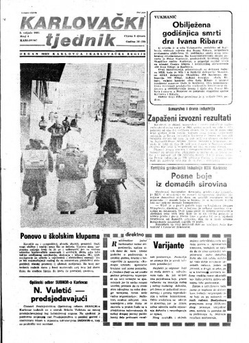 Karlovački tjednik: 1983 • 4