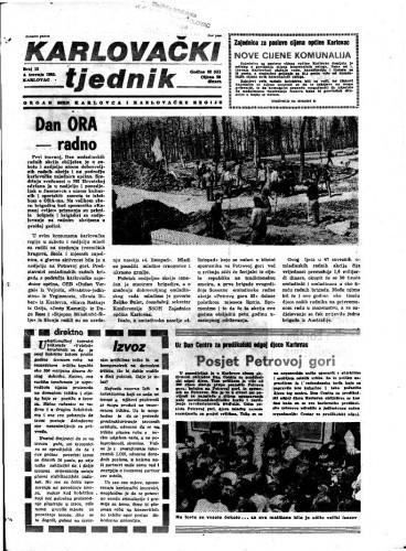 Karlovački tjednik: 1985 • 13