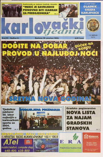 Karlovački tjednik: 2004 • 52
