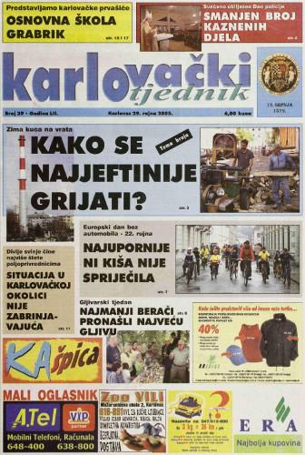 Karlovački tjednik: 2005 • 39