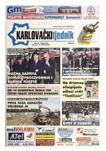 Karlovački tjednik: 2007 • 19