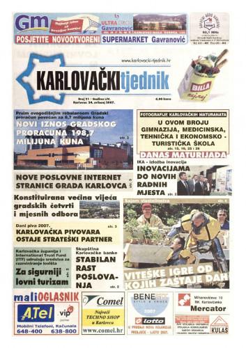 Karlovački tjednik: 2007 • 21