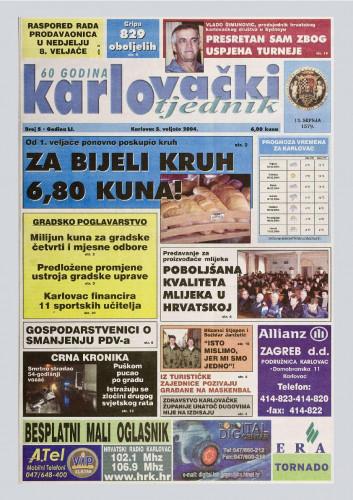 Karlovački tjednik: 2004 • 5