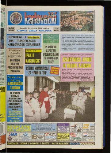 Karlovački tjednik: 1999 • 13