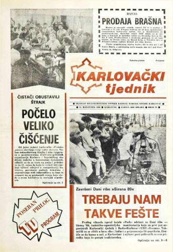 Karlovački tjednik: 1989 • 35