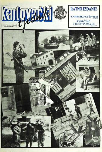 Karlovački tjednik: 1991 • 42
