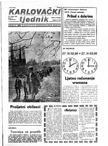Karlovački tjednik: 1983 • 11