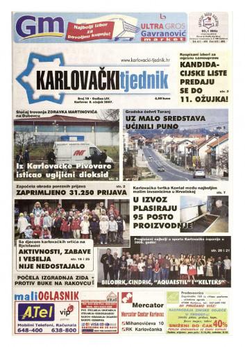 Karlovački tjednik: 2007 • 10