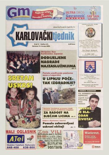 Karlovački tjednik: 2006 • 15