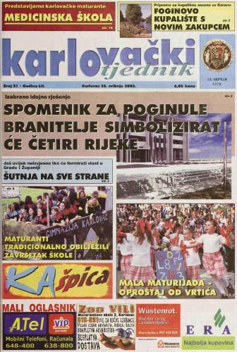 Karlovački tjednik: 2005 • 21
