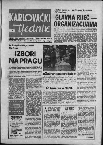 Karlovački tjednik: 1970 • 4