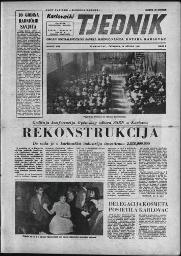 Karlovački tjednik: 1960 • 9