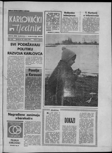 Karlovački tjednik: 1973 • 8