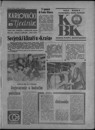 Karlovački tjednik: 1974 • 6