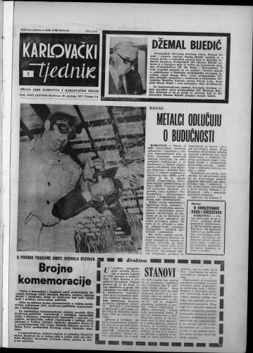 Karlovački tjednik: 1977 • 3