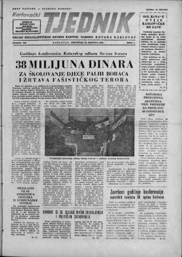 Karlovački tjednik: 1959 • 4