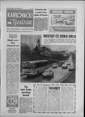 Karlovački tjednik: 1977 • 8