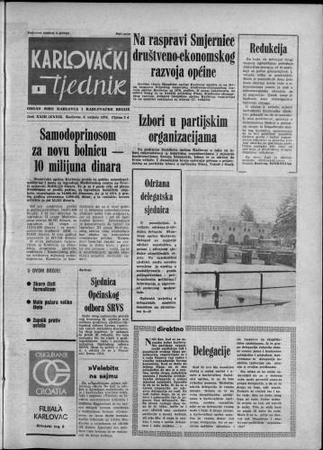 Karlovački tjednik: 1976 • 6