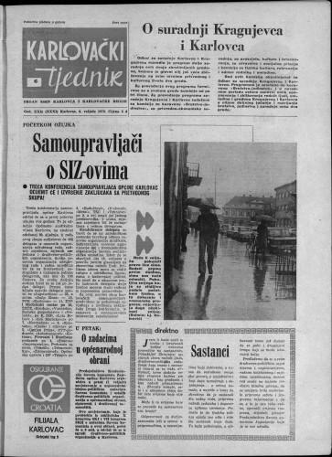 Karlovački tjednik: 1975 • 6