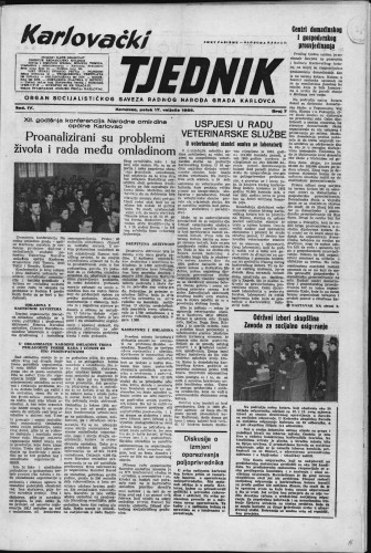 Karlovački tjednik: 1956 • 7